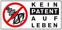 Kein Patent auf Leben!